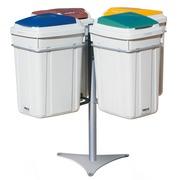 Isla de Reciclaje Plástica Eco-Lid