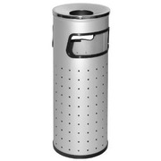 Papelera Cenicero Perforada 33 litros Ref.419-R