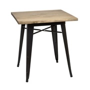 Mesa Bar Tudix Industrial Tablero de Madera