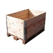 Cercos de madera para palet 120X80 cm nuevo