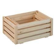 Lote 3 Cajas de Madera de Pino Ref.LOT362517