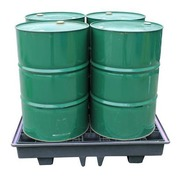 Cubeto de Retención 4 Bidones de 200 Litros Ref.BP4LR