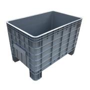 Contenedor Big Box de HDPE Gris 64 x 104 x 67 cm