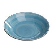 Plato Hondo Loza Azul 20,5 cm
