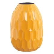 Jarrón de Cerámica Amarillo 22 x 22 x 30,5 cm