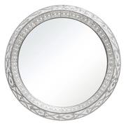 Espejo Industrial en Hierro Plateado 6 x 61 x 61 cm