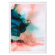 Cuadro Abstracto Impresión con Marco 4 x 50 x 70 cm