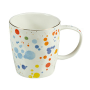 Taza Colour de Porcelana 8,5 x 13 x 9 cm