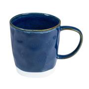 Taza Azul Interiors de Porcelana 8,5 x 13 x 9 cm