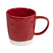 Taza Interiors de Porcelana Roja 8,5 x 13 x 9 cm