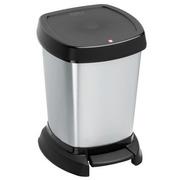 Papelera 6 litros de Resina y Lámina de Metal con Pedal