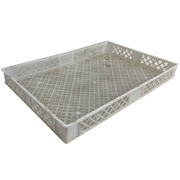 Caja Plástica Rejillada Seminueva 60 x 40 x 7 cm