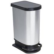 Papelera con Pedal de Resina y Lámina de Metal 50 litros