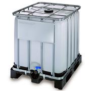 Contenedor con Palet Plástico IBC - GRG 1000 Lts