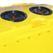 Boca con fuelle para contenedor de residuos 1000 litros