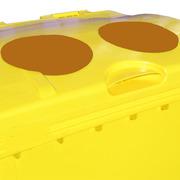 Boca sin fuelle contenedor de residuos 1000 litros