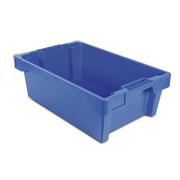 Caja 40x60x20 de Plastico Color Azul Modelo 6420