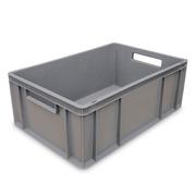 Cajón Cerrado 60x40x32 Apilable Fondo R. Ref.6432R