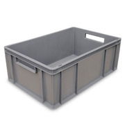 Cajón Cerrado 60x40x41 Apilable Fondo R. Ref.6441R