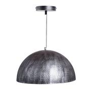 Lámpara de Techo Helmet de Hierro Plateado 60 x 35 cm