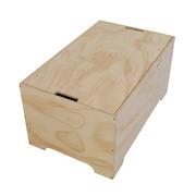 Mesa Box Vintage de Contrachapado 80 x 80 x 40 cm