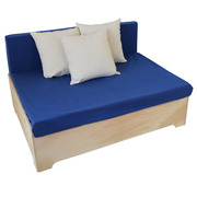 Sofa Industrial Box 80 x 120 con Respaldo
