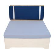 Cabecero Sofá Box 100 de Fenolico y Cojín de Dralon