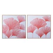 Cuadro Impresión Flores en Lienzo 3 x 70 x 70 cm
