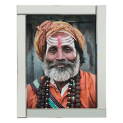 Cuadro Aborigen Foto Impreso en Cristal Templado 2 x 75 x 95 cm