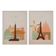 Cuadro Ciudades Impreso 4 x 50 x 70 cm
