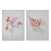 Cuadro Hojas Impresas 4 x 50 x 70 cm