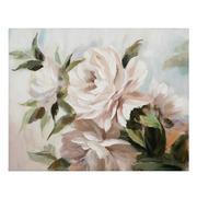 Pintura Flores en Lienzo 2,8 x 100 x 80 cm