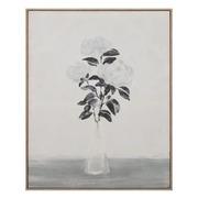 Cuadro Jarrón Flores Impreso en Lienzo 4 x 80 x 100 cm