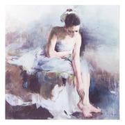 Cuadro Bailarina Impresión en Lienzo 3,5 x 100 x 100 cm