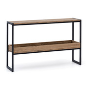 Consola con Bandeja de Madera iCub Industrial ECO Box Furniture