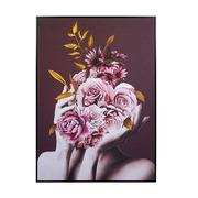 Cuadro Ramo Rosas 4 x 105 x 145 cm