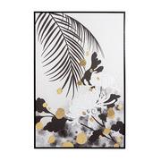 Cuadro Crisantemos en Lienzo 4 x 80 x 120 cm