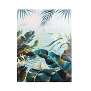 Cuadro Oleo Flor Amarilla en Lienzo 4 x 60 x 80 cm