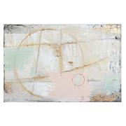 Cuadro Oleo Abstracto Pastel 4 x 90 x 60 cm