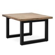 Mesa Auxiliar iCub Strong ECO Box Furniture Industrial Negro Efecto Vintage
