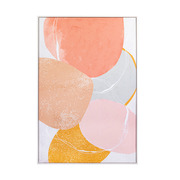 Cuadro Manchas Abstracto 4 x 85 x 125 cm