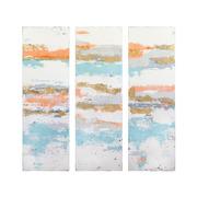 Set 3 Cuadros Abstractos Oleo 4 x 156 x 150 cm