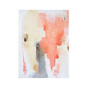 Cuadro Abstracto Oleo Coral 4 x 90 x 120 cm