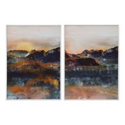 Cuadro Impreso Montañas 4 x 50 x 70 cm