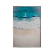 Cuadro Playa en Lienzo 4 x 80 x 120 cm
