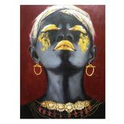Cuadro Impresión Africana 3,5 x 75 x 100 cm