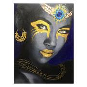 Cuadro Africana Impresión en Lienzo 3,5 x 75 x 100 cm