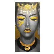 Cuadro Impresión Africana en Lienzo 3,5 x 60 x 120 cm