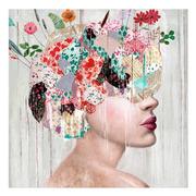 Cuadro Impreso Mujer en Lienzo 3,5 x 100 x 100 cm
