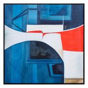 Cuadro Impresión Abstracto en Lienzo 4,5 x 87,5 x 87,5 cm